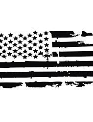 Недорогие -автомобиль экстерьер капот наклейки сша флаг наклейка винил авто украшения стикер