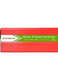 Недорогие -Kesge 2000 Вт высокая производительность соотношение мощности инвертор DC12 / 24В-AC220В / 110В с 2 USB инвертор