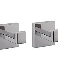 Недорогие -Крючок для халата Новый дизайн / Креатив Современный / Fun & Whimsical Металл 2pcs - Ванная комната На стену