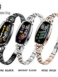 Недорогие -Жен. электронные часы На открытом воздухе Черный Серебристый металл Золотистый сплав Цифровой Золотой Черный Серебряный Защита от влаги Bluetooth Smart 30 m 1 ед. Цифровой