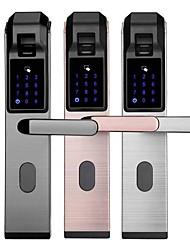 Недорогие -раздел проекта свободного открытия умный дом противоугонные пароль салфетка отпечатков пальцев умный замок двери электронный замок