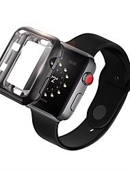 Недорогие -для яблочных часов серии 4 3 2 1 iwatch 38/42/40/44 мягкий бампер из тпу