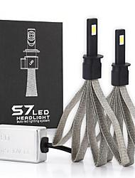 Недорогие -S7 автомобиль из светодиодов h1 замена лампы фар автомобиля сигнал освещения лампы универсального применения