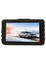 Недорогие -btutz LCD 1080p Full HD Автомобильный видеорегистратор 170° Широкий угол CCD 3 дюймовый LCD Капюшон с G-Sensor / Режим парковки / Циклическая запись Автомобильный рекордер