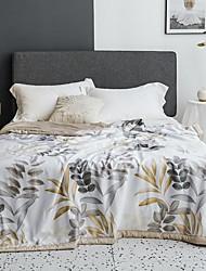 Недорогие -удобный - 1 одеяло Лето Полиэстер Цветочный принт