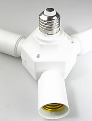 preiswerte -1pc E27-3E14 E14 100-240 V Konverter Kunststoff Glühbirnenfassung