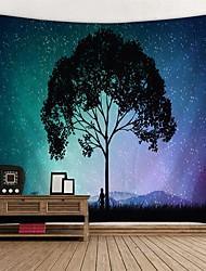 Недорогие -Сад / Цветы Декор стены 100% полиэстер Modern Предметы искусства, Стена Гобелены Украшение