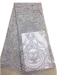 levne -Africké krajky květiny Vzor 125 cm šířka tkanina pro Zvláštní příležitosti prodáno podle 5Yard