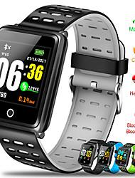 Недорогие -F3 умный браслет 1.44 цветной экран мониторинг артериального давления сердечного ритма GPS отслеживания движения ip68 водонепроницаемый здоровье смарт-часы