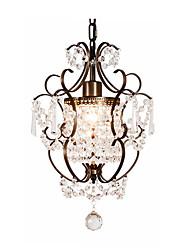 Недорогие -хрустальные подвесные светильники окружающие люстры светильники деревенский подвесные светильники для фойе регулируемый остров подвесное освещение для гостиной