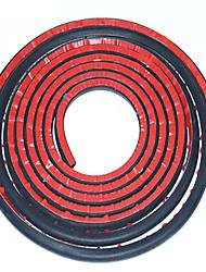 Недорогие -5 м d-образная форма двери автомобиля отделка кромки полый уплотнитель резиновая прокладка