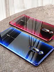 Недорогие -ультратонкий прозрачный чехол для телефона xiaomi mi 9t / mi 9t pro / mi max 3 / mi mix 3 / mi mix 2 / mi a2 lite / mi a2 / mi a1 обшивка мягкая тпу силиконовая полная крышка противоударная