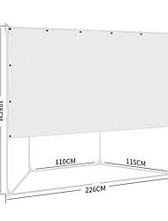 Недорогие -16:9 100 дюймовый PVC MaxWhite Напольный экран