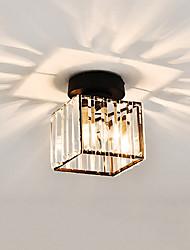Недорогие -CONTRACTED LED® Кристаллы / геометрический Потолочные светильники Рассеянное освещение Стекло Хрусталь, Мини, Творчество 110-120Вольт / 220-240Вольт
