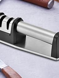Недорогие -Нержавеющая сталь + пластик Устройство для заточки ножей Творческая кухня Гаджет Кухонная утварь Инструменты Необычные гаджеты для кухни 1шт