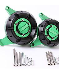 Недорогие -для kawasaki z800 cnc крышка статора двигателя комплект защитный колпачок