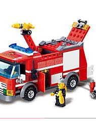 Недорогие -GUDI Экшен-фигурки Конструкторы Конструкторы Игрушки Автомобиль Пожарные машины совместимый Legoing Мальчики Девочки Игрушки Подарок / Обучающая игрушка