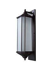 Недорогие -водонепроницаемый садовые бра современные современные скрытые настенные светильники / наружные настенные светильники наружный алюминиевый настенный светильник