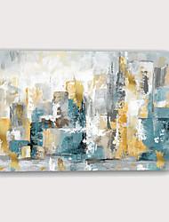 Недорогие -С картинкой Отпечатки на холсте - Абстракция Архитектура Modern Репродукции