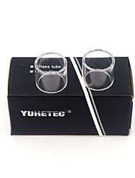 Недорогие -Замена стеклянной трубки yuhetec для joyetech превышает d19 2шт.