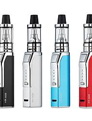 Недорогие -80 Вт vape электронная сигарета пара дыма ручка кальян мини 80 Вт vape kit 510 металлический корпус 2.5 мл распылитель е сигарета