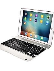 Недорогие -Кейс для Назначение Apple iPad Air / iPad Air 2 / iPad Pro 9.7'' Защита от удара / Защита от пыли / с клавиатурой Чехол Однотонный Твердый Металл