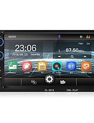 Недорогие -2 din автомобильный радиоприемник bluetooth зеркало ссылка 2din автомобильный мультимедийный плеер hd touch autoradio mp5 usb аудио стерео автомобильный монитор 2019 новый