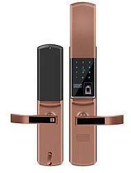 Недорогие -слайд замок отпечатков пальцев домашней двери безопасности интеллектуальный электронный пароль блокировки анти-помех импульсный разблокировать водонепроницаемый