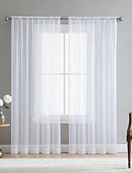 Недорогие -современный стиль стержня белые отвесные шторы гостиная хранения