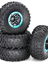 Недорогие -2,2-дюймовый RC Rcrawler заполненный воздухом шина воздуха пневматические шины Beadlock обода колеса и шины для 1/10 RC4WD D90 осевой SCX10 RC гусеничный грузовик запчасти 4 шт. / Компл.