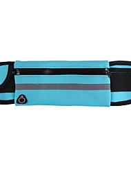 Недорогие -Поясная сумка Талия сумка / пакет для Спортивные сумки Водонепроницаемость Компактность Легкость Сумка для бега Водонепроницаемый материал Универсальные Взрослые