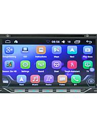 Недорогие -litbest he6611 7-дюймовый 2-дюймовый Android-андроид in-dash автомобильный DVD-плеер / автомобильный GPS-навигатор с сенсорным экраном / GPS / встроенный Bluetooth для универсальной поддержки Bluetoot