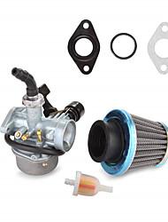 Недорогие -Карбюратор с карбюратором 70cc 90cc 110cc pz19 с кабельным дросселем&усилитель; воздушный фильтр для мотоцикла ATV