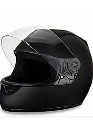 billige -ål mørke fuld ansigt teenager / voksne unisex motorcykelhjelm let påklædning / åndbar / solcreme