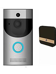 Недорогие -умный wifi беспроводной дверной звонок ик-камера 720p видео домофон записи homesecurityeu умный дом
