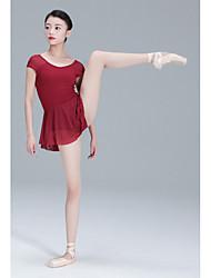 tanie -Balet Body Damskie Szkolenie Poliester Materiały łączone Trykot opinający ciało / Śpiochy dla dorosłych