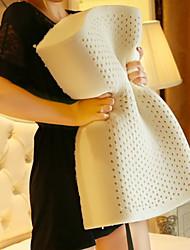 Недорогие -Комфортное качество Подушка с натуральным латексным наполнителем удобный подушка 100% натуральный латекс Полиэстер