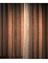 Недорогие -Европейский стиль цифровой печати водонепроницаемый 100% полиэстер фон шторы чистый цвет затемнения украшения занавес для спальни гостиной
