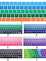 Недорогие -Европейская версия испанской клавиатуры клавиатуры пленка Apple, ноутбук защитная пленка для MacBook Air Pro Retina 11/12/13/15 дюймов силиконовые