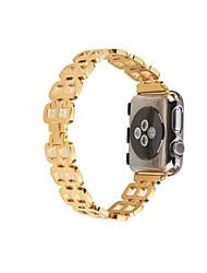 Недорогие -Ремешок для часов для Apple Watch Series 4/3/2/1 Apple Миланский ремешок Нержавеющая сталь Повязка на запястье