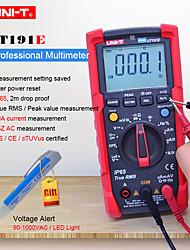 Недорогие -uni-t ut191e профессиональный цифровой мультиметр постоянный ток переменный ток омметр ip65 водонепроницаемыйacv lpf / loz acv коэффициент заполнения / тестер диодов