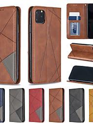 Недорогие -чехол для яблока iphone xr iphone xs max чехол для телефона искусственная кожа материал алмаз темный магнитный сплошной цвет чехол для телефона iphone xs x 7 8 7 плюс 8 плюс 6 6s 6 плюс 6s plus