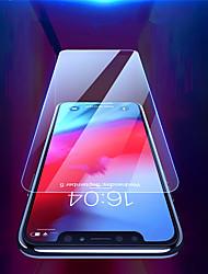 Недорогие -Защитная пленка для экрана Apple Iphone XR / Iphone XS / Iphone X / Iphone XS Макс закаленное стекло 1 шт. Защитная пленка переднего экрана высокого разрешения (HD) / 9h твердость / взрывозащищенный