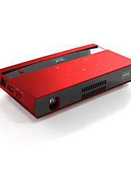 Недорогие -aao h96 max s912 светодиодный проектор 100 лм поддержка Android разрешение 854 * 480 Bluetooth 4.1 ддр (2 г 16 г)
