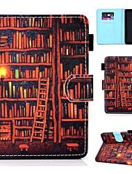 Недорогие -Кейс для Назначение Amazon Kindle Lite (2019) / Kindle PaperWhite 2(2nd Generation, 2013 Release) / Kindle PaperWhite 3(3th Generation, 2015 Release) Бумажник для карт / Защита от удара / со стендом