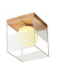 Недорогие -потолочный светильник нордический простой подвесной светильник скрытого монтажа минималистский потолочный светильник для коридора прихожей лестничные ступени потолочные светильники куб