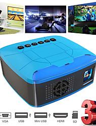 Недорогие -U20 мини-проекторы usb hdmi av портативный видеопроектор для домашнего кинотеатра кинопроектор портативный проектор