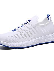 Недорогие -Муж. Комфортная обувь Tissage Volant Лето / Осень Спортивные / На каждый день Спортивная обувь Для прогулок Дышащий Черно-белый / Черный / Желтый / Белый / Атлетический