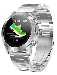 Недорогие -Смарт-часы s10 1.3 '' ip68 водонепроницаемый nordic nrf52832qfaa 512kb rom монитор сердечного ритма сидячий напоминание smartwatch