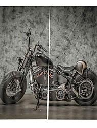 Недорогие -европейский мотоцикл пейзаж шторы 3d печать утолщение 100% полиэстер занавес гостиная спальня фон занавес